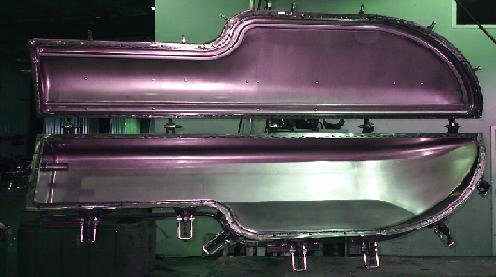 Sheet Metal Rotational Moulds